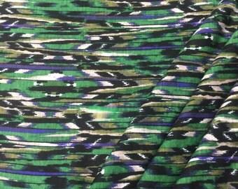 Rayon Jersey Knit GrassBlade Print