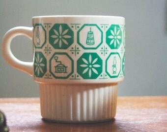 Coffee Mug, Vintage Kitchen