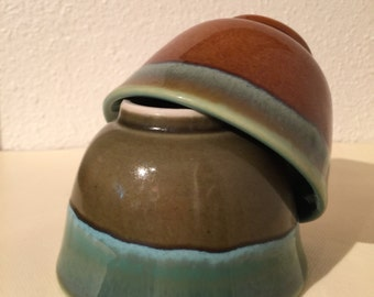 Japanese Tea Cups, Pottery and Glazed Ceramic Tea Cups