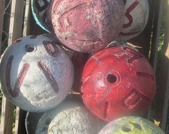 Used Crab Lobster floats buoys Florida ( 3 )