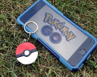 Pokémon Go Pokéball Keychain