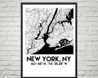 New York,NY Poster (Digital)
