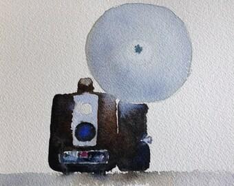 Brownie - Watercolor Card