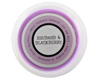 Rhubarb & Blackberry Scented Wax Melt