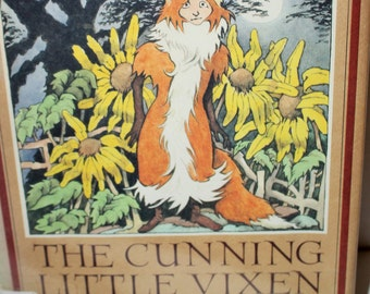 The Cunning Little Vixen by Rudolf Tesnohlidek - Illustrated by Maurice Sendak 1985 - Adventures  of Vixen Sharp Ears - Czech Opera Libretto