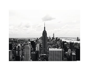 Posters New York City NYC NY skyline Empire State Building 50 x 70 cm poster photo
