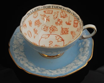 Paragon Fortune Telling Tea Cup & Saucer