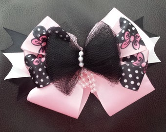 Fancy Minnie mouse hair bow