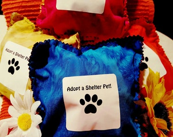 Hand-Made Dog Toy with a Cause