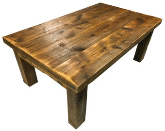 Reclaimed Barn Wood Table / Dining Table / Coffee Table / Table Top / End Table / Rustic Table / Rustic Furniture