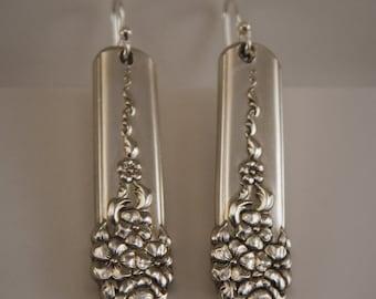 Antique Silverware Earrings