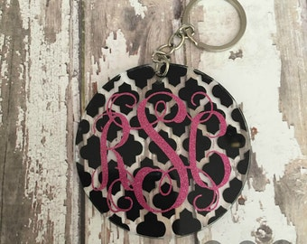 Circle Acrylic Keychain