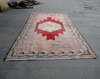 Turkish rug,vintage Turkish rug,area rug,67 x 39 cottage decor,country decor,village rug,home decor,boho rug,home entrance rug,outdoorsrug