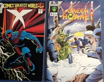 Green Hornet and X Comics
