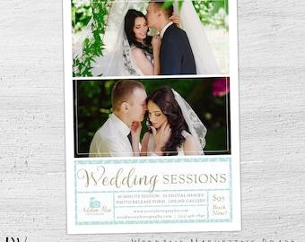 Wedding Photography Marketing Board, Photoshop, Bridal Mini Session, Wedding Photography Marketing, Photography Marketing Flyer - 01-009