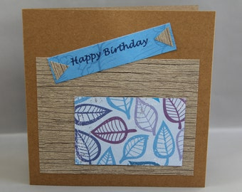Happy Birthday 04 card with matching envelope