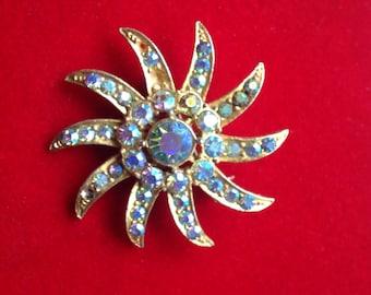 Vintage brooch star