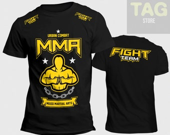 T-shirt MMA Mixed Martial Arts Urban Combat fighting clothing tees ufc fight