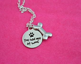 Dog Necklace, Dog Jewelry, Dog Jewellery, gifts for dog lovers
