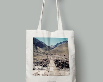 """Tote bag """"Two for the road"""""""