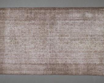 Oushak Vintage Rug in Grey 275 cm x 164 cm