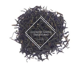Goomtee Green Darjeeling FTGFOP1, Loose Leaf Tea, Green Tea