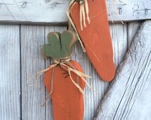 Ready to Ship~Rustic Carrots