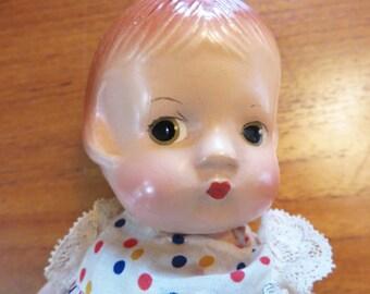 Vintage 1920s composite doll