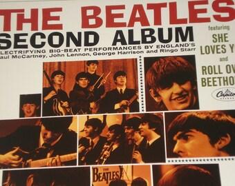 Beatles vinyl record, The Beatles' Second Album vintage record album
