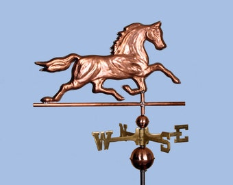 Copper Horse Weathervane BH-WS-417