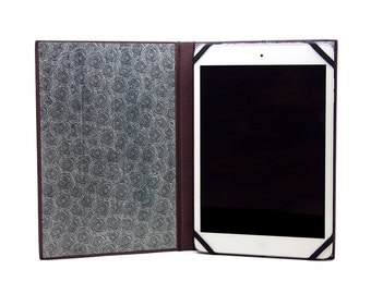 IPad Mini plum leather case
