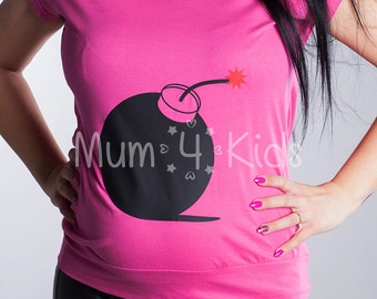 T-shirt with funny print  - 9 Colurs! 4 Differen Prints