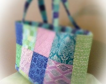 Wave-on-Wave Tote
