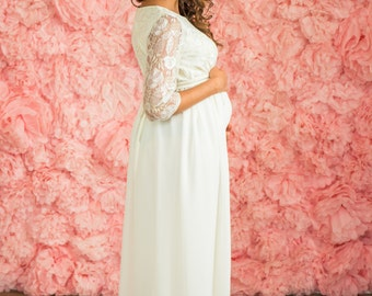 "Maternity wedding dress ""Gorgeous"""
