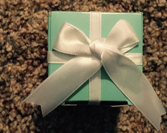 Breakfast at tiffany's shower favors