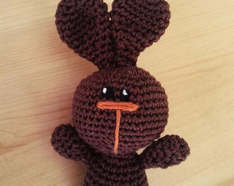 BUNNY BABY/crochet cotton toy/rabbit baby/crochet cotton bunny/amigurumi bunny/amigurumi rabbits/cotton baby toy/newborn toy/crochet toys