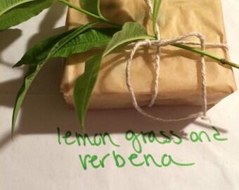 Lemon Grass and Verbena Soap