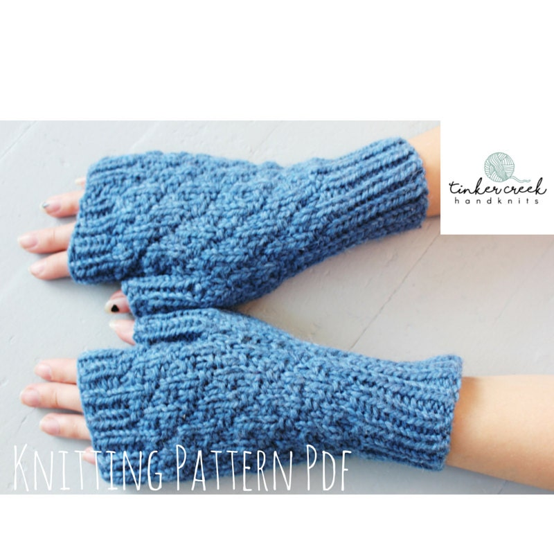 Knitting Patterns Knitting Pattern Fall Knit Gloves Pattern