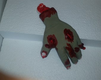 Edible zombie hand realistic
