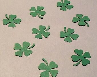 Green Shamrock Confetti Clover Confetti St. Patrick's Day Confetti Holiday Confetti Glitter Confetti Green Confetti