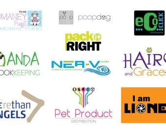 Bespoke logo design service
