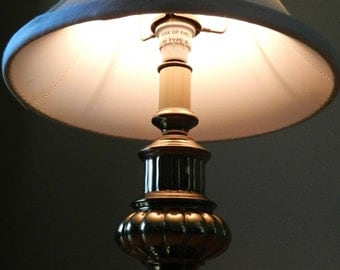 Brass Accent Lamp