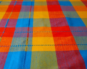 Best Selling Items, Garden Party Ideas Summer Tablecloth, Outdoor Entertaining Outdoor Dining, Picnic, TABLECLOTH 200x160 cm. Handwoven!