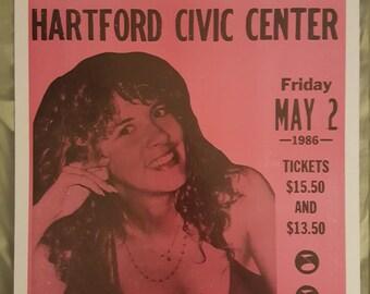 Stevie Nicks concert poster