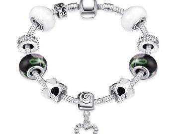Chrismas in Aspen Pandora Inspired Bracelet