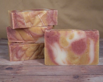 All Natural, Crisp Anjou Pear, Cold Process Soap