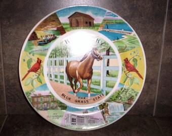 Kentucky Collectible Plate