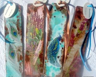 Bookmarks - Set Of Four Handmade Bookmarks