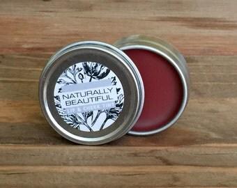 Organic Lip and Cheek Tint, Organic Lip Balm, Natural Lip Tint, Conditioner, Bridesmaid, Gift