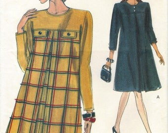VINTAGE Very Easy Vogue 8168 Pattern - 1990s Misses' Dress